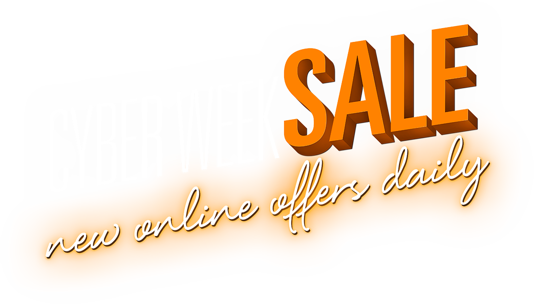 Cyber Week Sale. new online offers daily